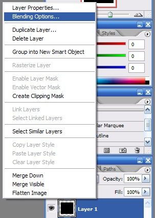 Adobe Photoshop CS3 Style Icons Tutorial