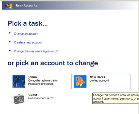 How to Add Users in Windows XP