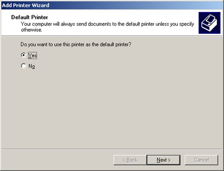 Sharing a Printer on a Windows Network