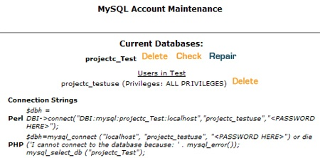 How to Access MySQL Databases using PHP