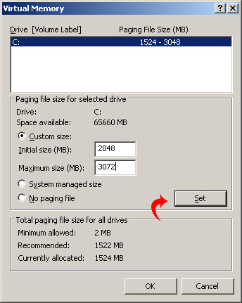 Speed Up Your PC by Increasing Page File Size