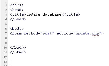 Inserting Data Into a MySQL Database using PHP