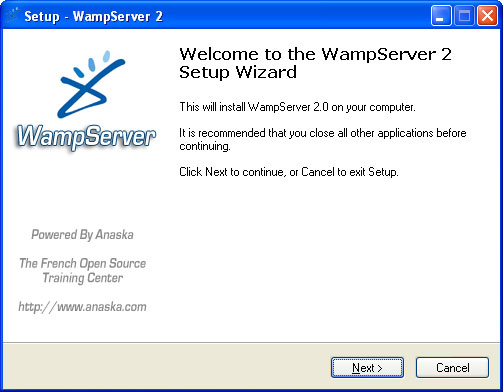 wampserver 2 32 bits