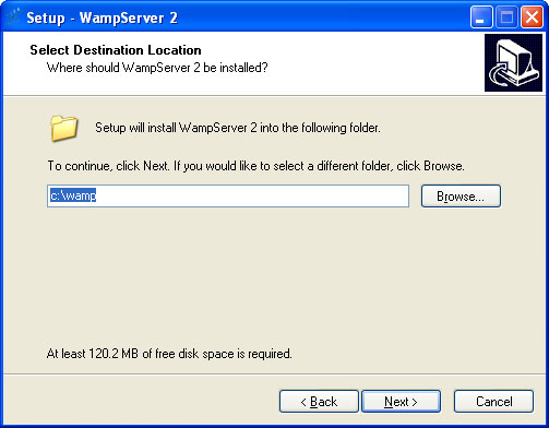 Setting Up a WAMP Server