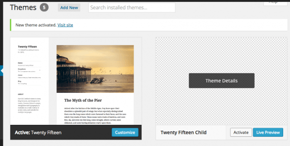 wordpress child theme 04