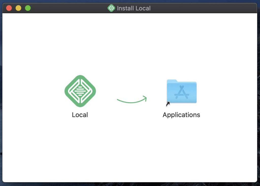 install local by flywheel